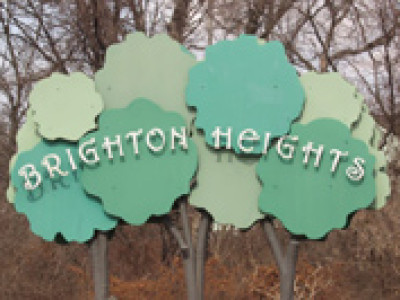 "Neighborhood Notes: 						Brighton Heights -  ""Pappy's Flowers"""