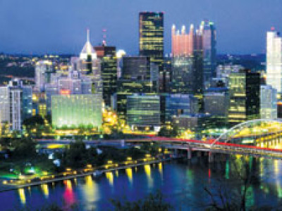 Pittsburgh's Annual Light Up Night