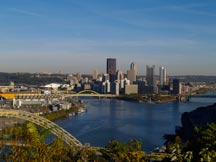 Pittsburgh from the West End/Elliot Overlook