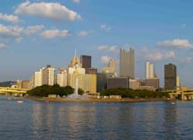 Pittsburgh from the Three Rivers