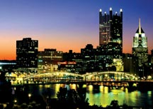 Pittsburgh from the Liberty Bridge