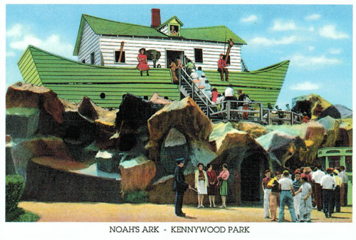 Kennywood Park, Pittsburgh, PA, Noah's Ark