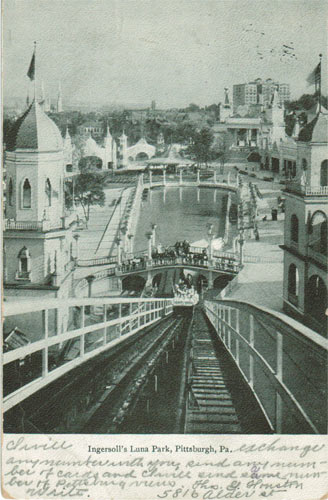Luna Park, early Pittsburgh Amusement Park