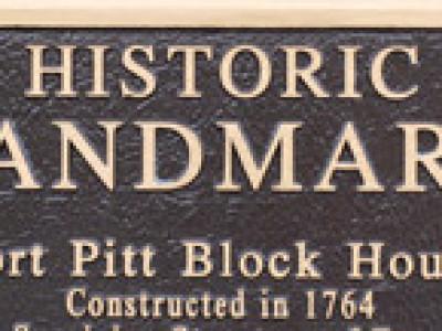 The Fort Pitt Blockhouse