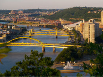 Pittsburgh: Bursting with Bridges