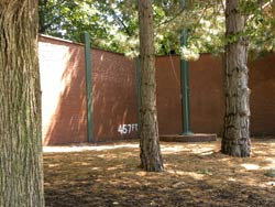 Forbes Field Wall