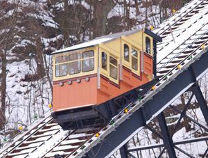 Pittsburgh's Monongahela Incline Winter