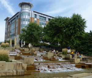 Water Steps at Riverfront Park