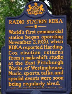 KDKA Sign