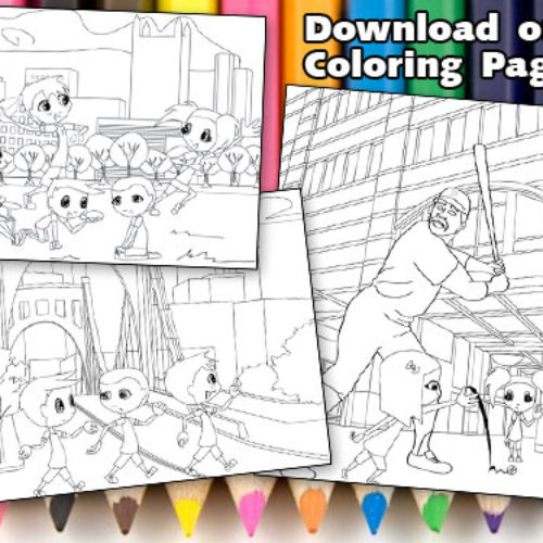 Pages to Print & Color for Kids