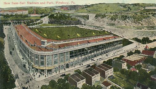 Forbes Field Postcard