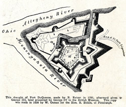 Fort Duquesne Drawing