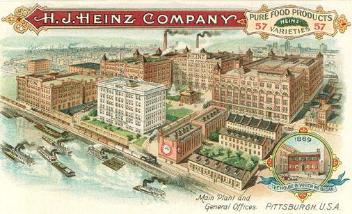 H.J. Heinz Company in Pittsburgh - Popular Pittsburgh
