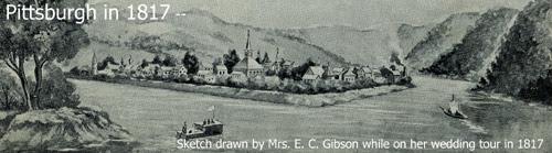 Pittsbburgh in 1817