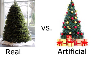 Real Christmas Tree Vs Fake