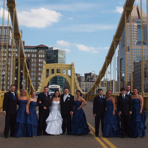 It's a Pittsburgh Wedding!
