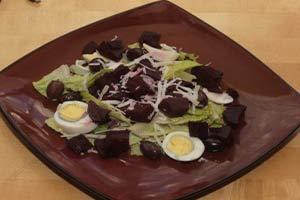 Roasted Beet Salad, Autumn Recipes