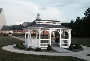 Lake Front Gazebo Geneva Lake