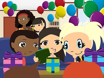 Kim's Birthday Party