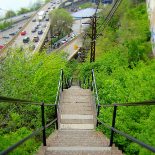 Pittsburgh City Steps for Climbing