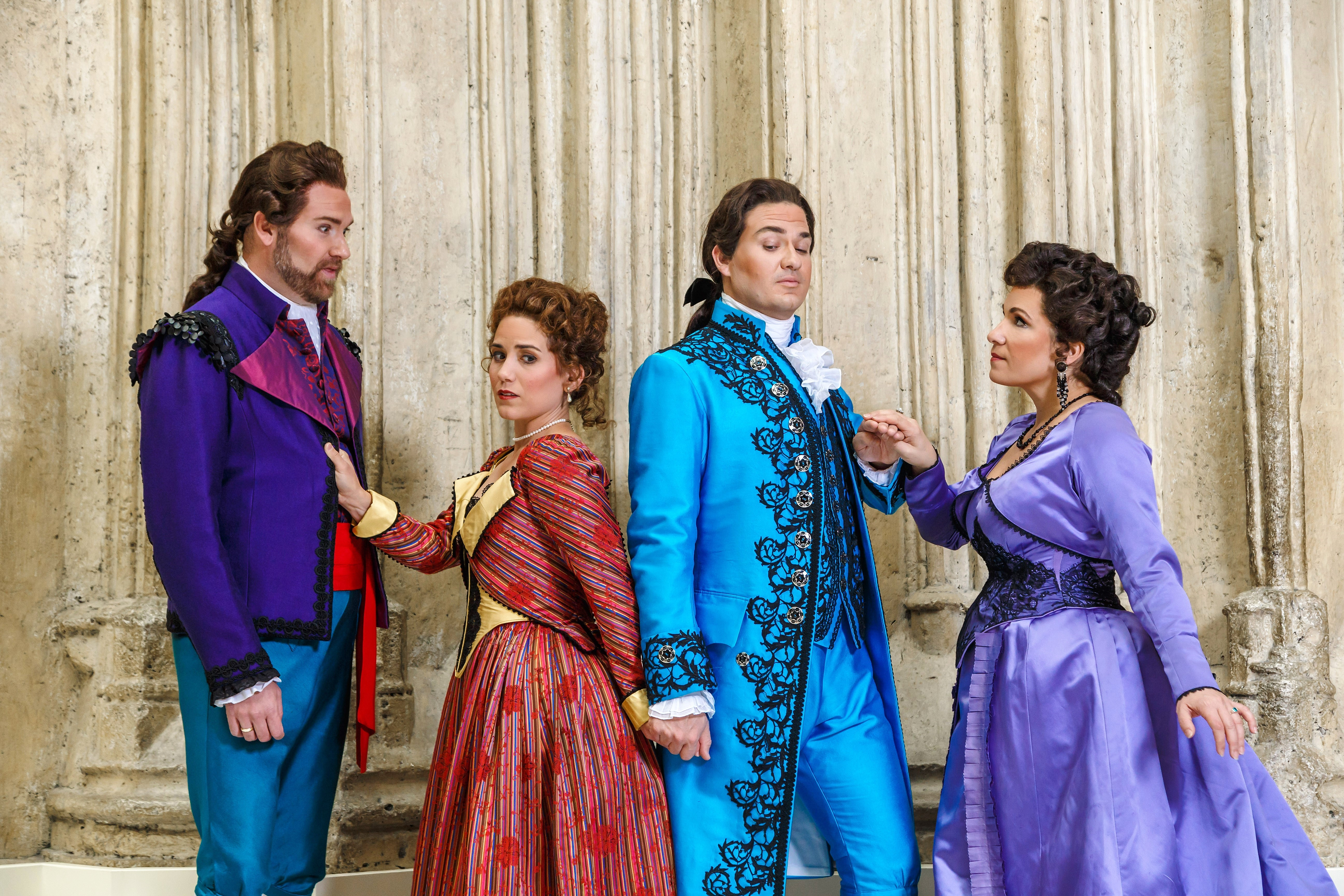 a review of the 1784 performance the marriage of figaro