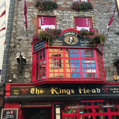 Comparing Our Irish Pubs with Ireland's