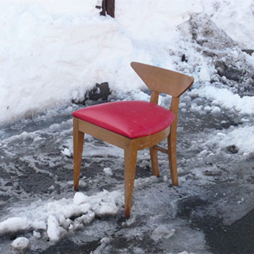 The Pittsburgh Parking Chair